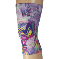 Light/Moderate Knee Support-Purple Oilescent