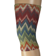 Womens Light/Moderate Knee Support-Fall Chevron