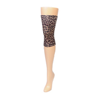 Womens Light/Moderate Knee Support-Hairy Leopard