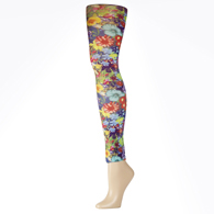 Womens Leggings-Bouquet