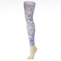 Womens Leggings-Purple Klara