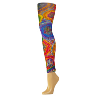 Womens Leggings-Austin Powers