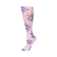 Trouser Sock-Purple Ensemble