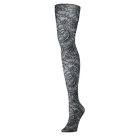 Womens Tights-Midnight Lace