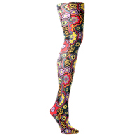 Womens Tights-Black Vogue