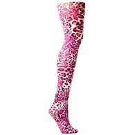 Womens Tights-Fushia Tarzan