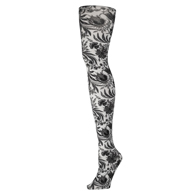 Womens Tights-Black Paris