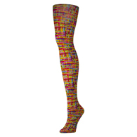 Womens Tights-Color Grid