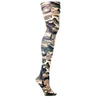 Womens Tights-Camo